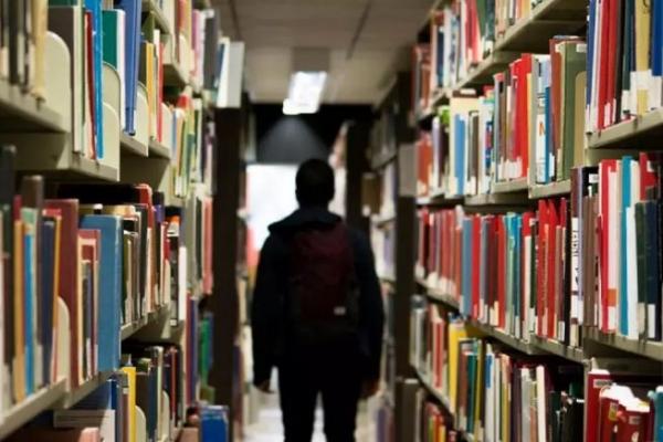 도서관 학생