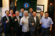 워싱턴교협 임원진들이 '전부하나(전도/부흥/하나/나눔) 워싱턴 컨퍼런스'의 성공적인 개최를 기도했다.