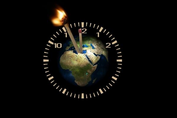 종말 지구 시간