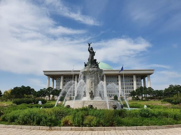 국회의사당 전경