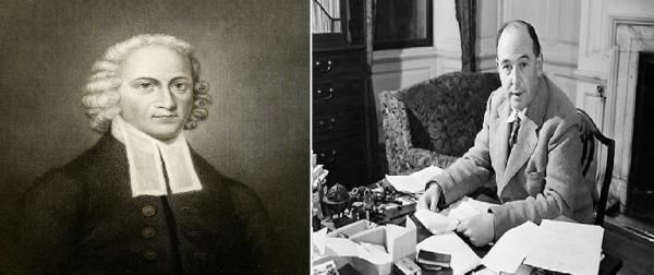 (왼쪽부터) 조나단 에드워즈, C.S.루이스