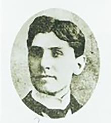 피터스 부인의 장례를 집례한 하운셀 선교사