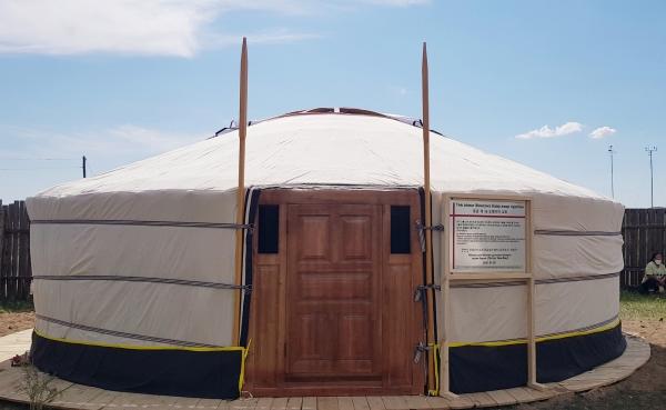 몽골 게르성전