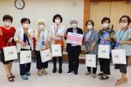 지미션이 여성 선교사 200여 명에게 화장품을 지원했다.