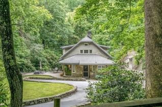 노스캐롤라이나에 소재한 빌리 그래함 목사의 집