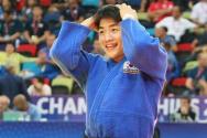 2018 세계유도선수권대회 당시 안창림의 모습