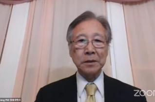 한국교회정론 유튜브는 줌으로 진행된 이날 포럼을 실시간 중계했다. 사진은 장충국 박사가 발제한 모습.