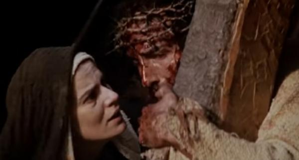 영화 '패션오브크라이스트'의 한 장면.