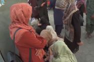 아프가니스탄 여성과 어린이들