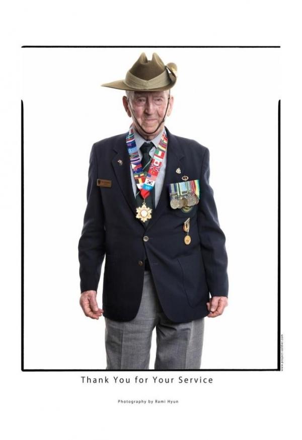 톰 파킨슨 호주한국전참전용사협회(KVAA) 회장