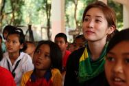 브레인 최정원, 태국서 봉사활동