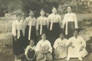 1934년 5월 13일 면려회 원족에서 새문안 여성면려회원들