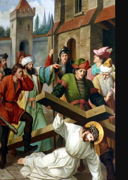 크리스천에게는 하나님께 순종함으로 가장 큰 고난을 이기신 예수 그리스도가 있다.