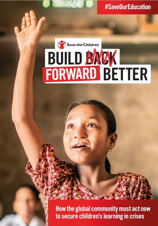 세이브더칠드런 보고서 'Build Forward Better' 발표