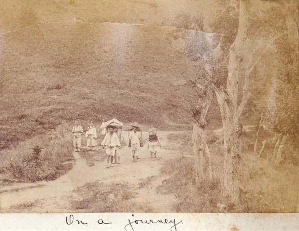 아펜젤러 선교사가 여행 중에 찍은 사진