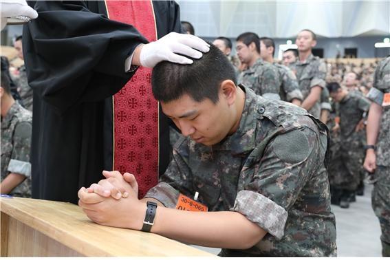 군선교연합회군, 비전선포식