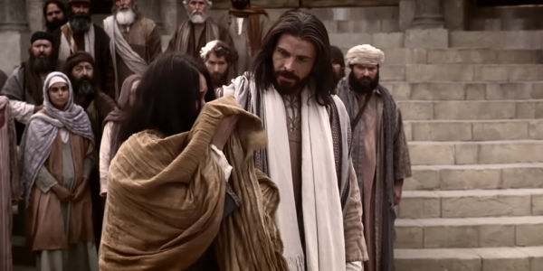 간음하다 붙잡힌 여인을 용서하신 예수