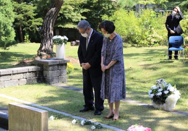 한신대 김대현 장로 추모예배