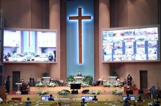 여의도순복음교회 조용기 목사