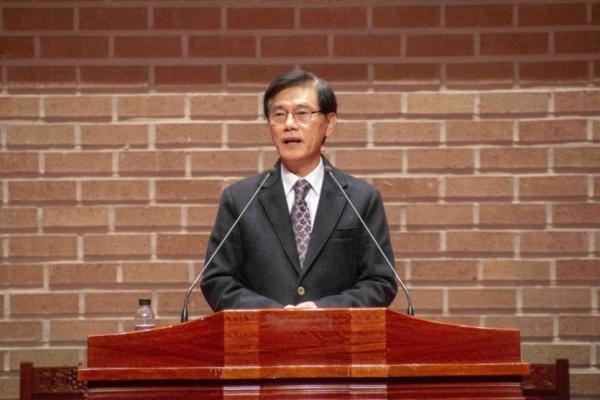 고려신학대학원, 예장고신 제71회 강학근 목사 신임총회장