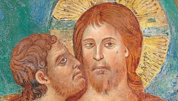 예수의 볼에 입맞춤을 하는 가룟 유다