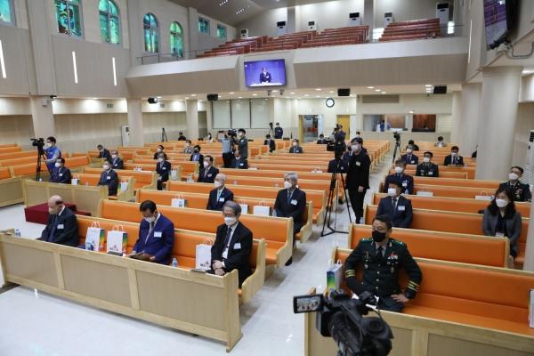 '비전2030실천운동 비전 선포식'이 10월 7일 국방부 국군중앙교회에서 열렸다.