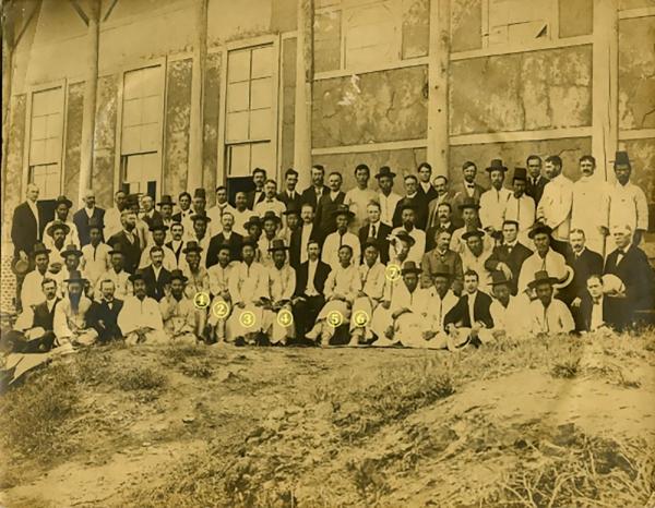 1907년 장로교에서 첫 목사 임직을 받은 7인 목사