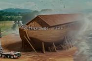 창세기 '노아의 방주' 스토리에 영감 받아 제작된 영화 '에반올마이티'(2007년 作)의 한 장면