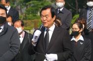 국민혁명당 김경재 대통령 후보 기자회견 및 출정식