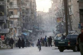 시리아 알레포의 모습.