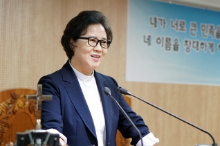 예장 새중앙총회 이상분 총회장