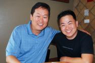 그레이스커뮤니티쳐치 빌리 박 목사와 에디 림 목사