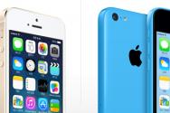 애플 아이폰5S와 5C
